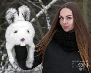 Czapka królik