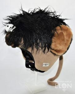Czapka na kask narciarski - Małpka