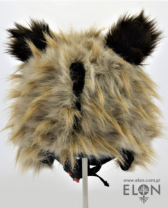 Czapka na kask narciarski - Sowa