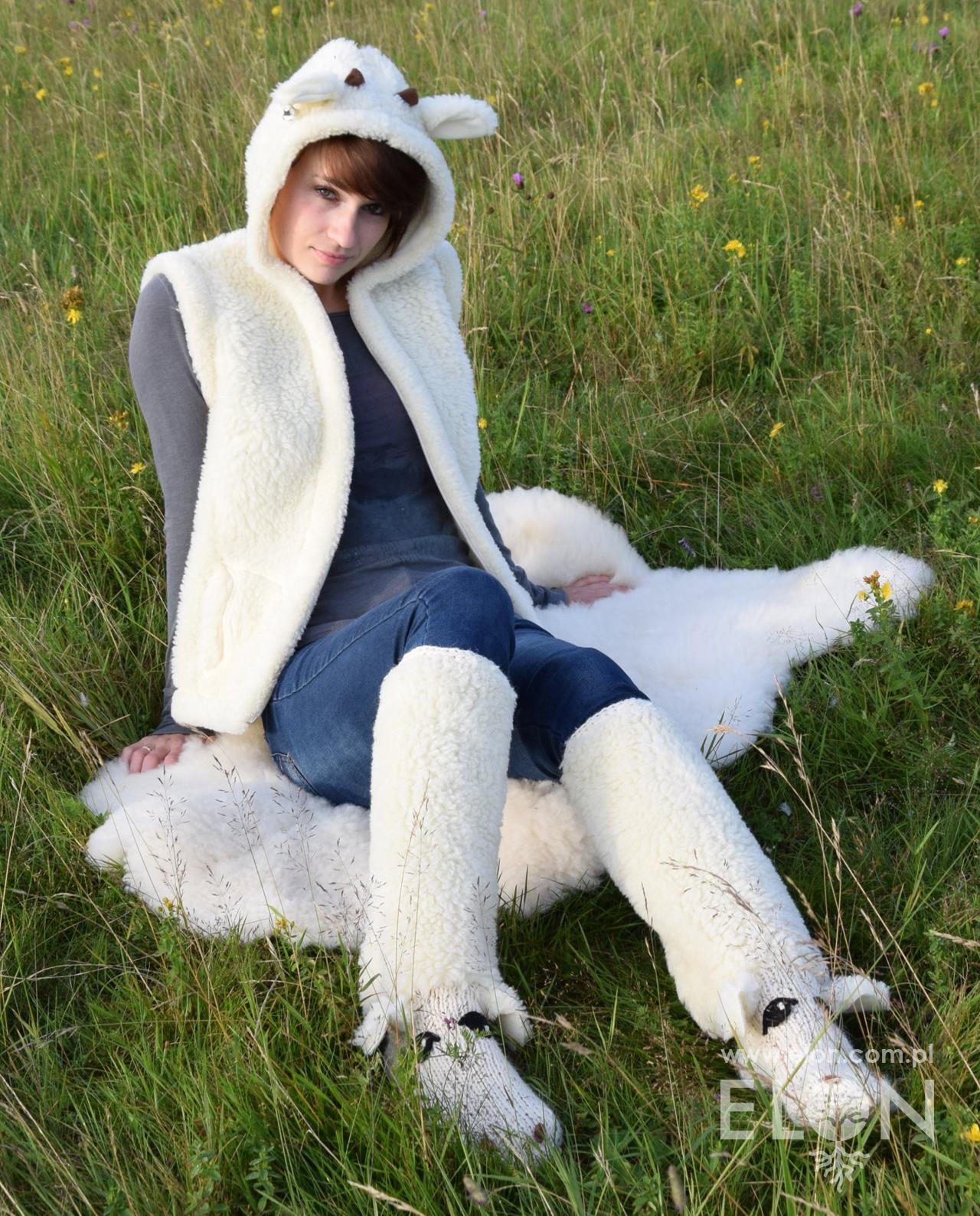 Skarpety wełniane Owieczka.